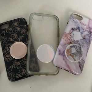 IPhone 7 Cases with Pop Sockets